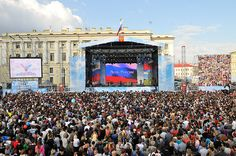 The National day, celebrated on June 12. On this day, in 1990, Russian parliament formally declared Russian sovereignty from the USSR. The holiday was officially established in 1992. People may attend concerts and fireworks that take place in many cities throughout the country. Prominent Russian writers, scientists and humanitarian workers receive State Awards from the President of Russia on this day. Most public offices and schools are closed on June 12.