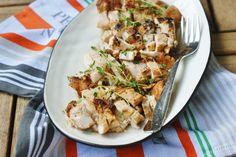Timian marinert kylling og spicy squash