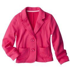 Cherokee® Girls Knit Pink Blazer  ♡ed by http://www.LadyXeona.com