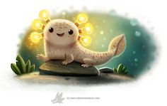 Daily Paint #1258. AMPhibian by Cryptid-Creations.deviantart.com on @DeviantArt