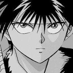 I love Hiei! Manga Bl, Manga Anime, Anime Art, Kylie Padilla, Studio Ghibli Poster, Yu Yu Hakusho Anime, Anime Butterfly, Yoshihiro Togashi, Old Anime