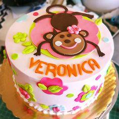 A monkey birthday cake. Cake # 085.