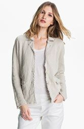Eileen Fisher Metallic Jacket available at Nordstrom.