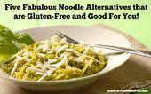 Fünf großartige glutenfreie Low Carb Pasta-Alternativen