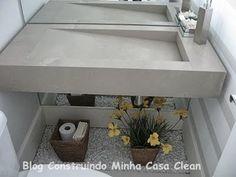 Construindo Minha Casa Clean: A Beleza das Bancadas de Porcelanato!                                                                                                                                                                                 Mais