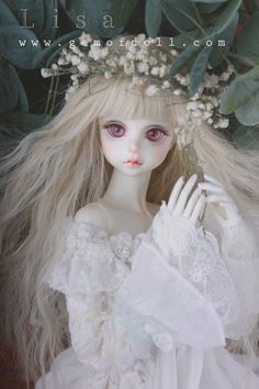 Lisa (Canvas), 58cm Gem of Doll Girl - BJD Dolls, Accessories - Alice's Collections