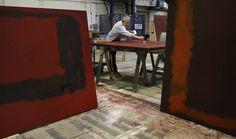 """""""Theater: Dallas Theater Center re-creates painter Mark Rothko's studio for 'Red'"""" via dallasnews.com"""