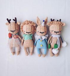 crochet LION pattern by sasha koffer Crochet Animal Patterns, Crochet Doll Pattern, Crochet Patterns Amigurumi, Stuffed Animal Patterns, Amigurumi Doll, Crochet Dolls, Doll Patterns, Crochet Animals, Kawaii Crochet