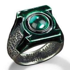 Green Lanterns ring..OMG 0.0