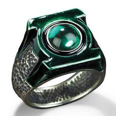 Green Lanterns ring..OMG 0.0