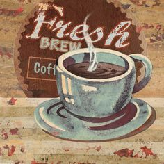 Coffee Brew Sign II is a beautiful fine art canvas by Paul Brent at InGallery.com