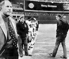 1972 oakland raiders | Raiders coach John Madden (right) stalked the sideline in the waning ...