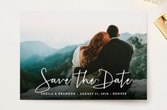 Stylish Script by Hooray Creative at minted.com