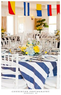 Nautical Themed Wedding Centerpieces | E+a | Pinterest | Themed Weddings,  Navy And Wedding