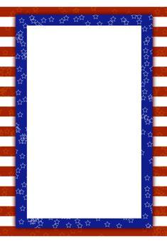 Free Printable Patriotic Invitation