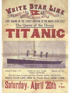 Rms Titanic, Titanic Photos, Vintage Advertisements, Vintage Ads, Titanic Poster, Titanic Artifacts, Old Ads, Vintage Travel Posters, Belfast