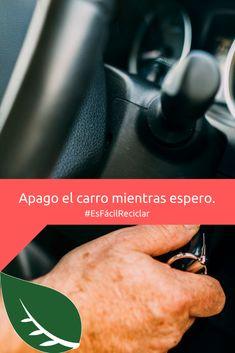 ¡Recuerda! Si estás esperando a alguien o debes aparcar a esperar lo mejor es apagar el carro sin importar cuánto tiempo debas esperar.