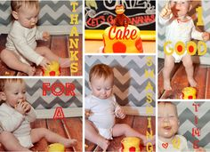 Project Nursery - Cake Smash Photos