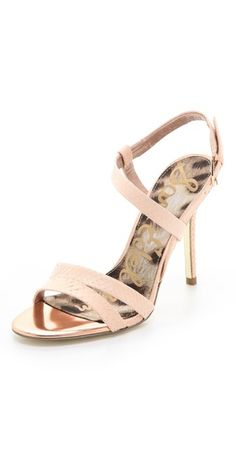 00aafc49569 Sam Edelman Abbot Strappy Sandals - wedding shoes I would wear again.