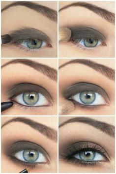 Smokey eye instructions...perfect for night or day.