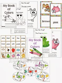 FREE Preschool/Kindergarten Color Recognition Pack and #Giveaway