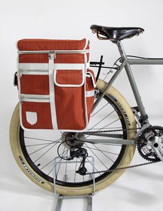 Pannier with personalised initials