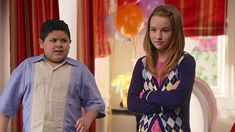 Still of Rico Rodriguez and Kaitlyn Dever in Modern Family and Fizbo