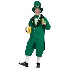 ST PAT PUB LEPRECHAUN ADULT  sc 1 st  Pinterest & St Patricks Day Costumes - Leprechaun Mascot Costume | St Patricku0027s ...
