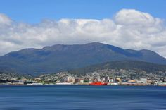 Hobart taken from Howrah Esplanade, Tasmania. Tasmania, Places Ive Been, Dolores Park, To Go, Island, Building, Travel, Spaces, Country