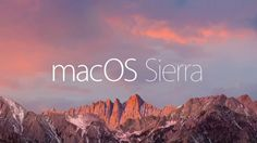 Goodbye Mac OS X and hello macOS Sierra . Apple announced at WWDC 2016 that its new operating system for its Mac computers and MacBook la.