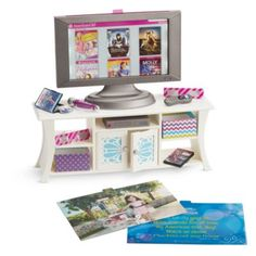 Music & Movies Entertainment Set -- possibly on our wish list.  I still love the homemade one we made last year!