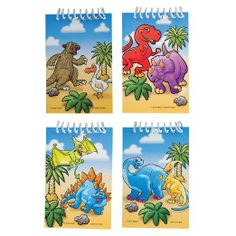 Dinosaur Spiral Note Pads - great for the party bags