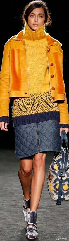 Tikirani Fairisle Tunic Sweater - Cardigan With Buttons