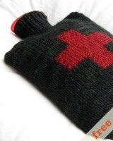 free pattern for a hot water bottle cozy