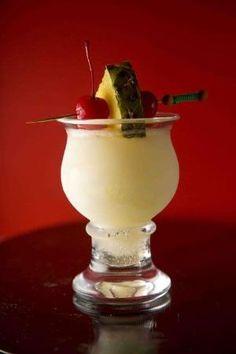 Malibu Express ~ 1 oz Malibu Coconut Rum, 1 oz Light Rum, 2 oz  7-Up Soda, 5 oz Pineapple Juice by Joao.Almeida.d.Eca