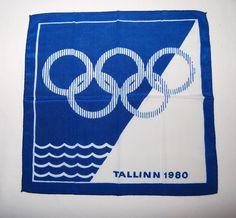 Tallinn 1980 Olympic scarf.