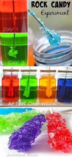 Easy Rainbow Skittles Science Experiment Science Experiments - Pouring hot water on skittles creates a magical rainbow