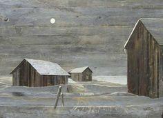 """~Sixten Ahlsved, """"Kall Vinternatt""""~"""