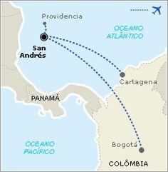 San Andrés - Como chegar - Guia de Viagem - UOL Viagem Places Ive Been, Places To Visit, Jet Lag, Backpacker, Hostel, Vacation Destinations, South America, Panama, Columbia