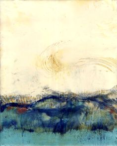 by Serena Barton - Encaustic on panel