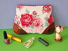 Great tutorial.  I hope to make it larger and plastic lined to use as a make-up travel bag