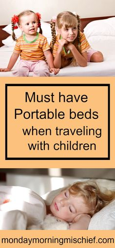 The best travel bed for children