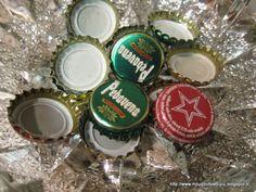 Milù, di tutto e di più!: Riciclo... i tappi della birra.