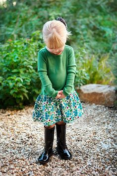 Just Kids Photography loves the way this outfit is styled!