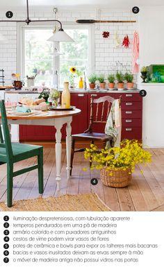 country cozy kitchen  decor  cozinha  kitchen Red Kitchen Cabinets 88a54f0904b6