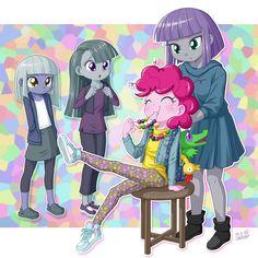 Pinki & her sisters