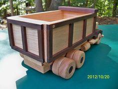 Camión madera herencia calidad madera maciza de roble por mikebtoys