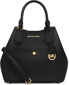 04a5fef1f3d6 Michael Kors Greenwich Saffiano Leather Large Black Satchels Sale For  People In Cheap, Come To Buyone In Big Discount.