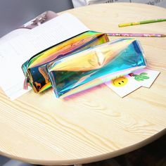 1Pcs/Sell Tassels Clear Laser Pencil Case Super Shiny PU Laser PencilsBag Girl Durable Large Capacity School Supplies Stationery-in Pencil Cases from Office & School Supplies on Aliexpress.com | Alibaba Group