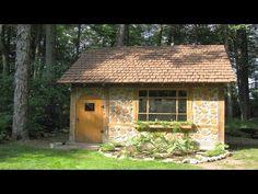 Необычные технологии - дом из дров